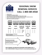 Dutch Way Cleaning Services - Snow Removal Snowplowing & Salt ...